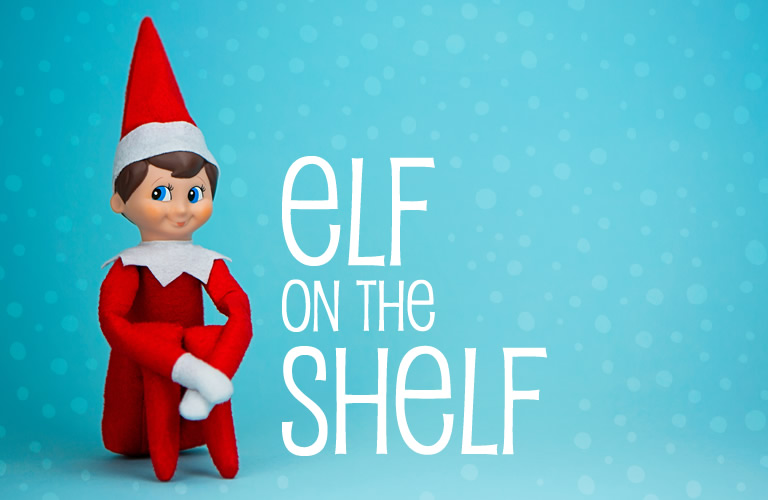 Elf tells Santa if you've been naughty or nice!