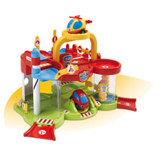 Vroom Planet Garage by Smoby Toys