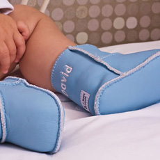 Personalised Baby Leather Sheepskin Boots
