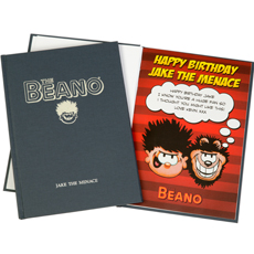 Personalised Beano Comic Book - Hardback