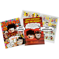 Personalised Beano Comic Book - Softback