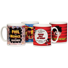 Personalised Beano Mugs