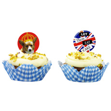 Cupcake Cases & Toppers (x 50)