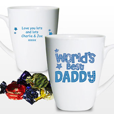 Personalised Worlds Best Daddy Mug