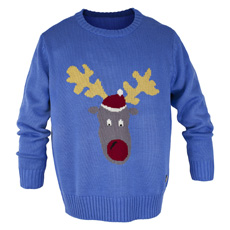 Christmas Jumper - Reggie Reindeer - Large