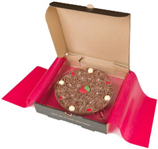 Chocolate Pizza - Strawberry & Champagne - 7'