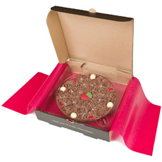 Chocolate Pizza - Strawberry & Champagne - 10'