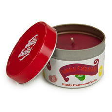Jelly Belly Fragranced Candle Tin - Very Cherry