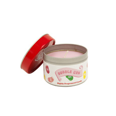 Jelly Belly Fragranced Candle Tin - Bubblegum