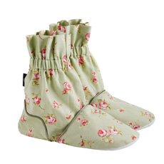 Aroma Home Hot Sox Rosebud Feet Warmers - Sage