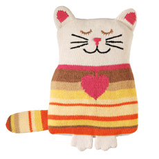 Aroma Home Knitted Snuggle Hottie - Cat