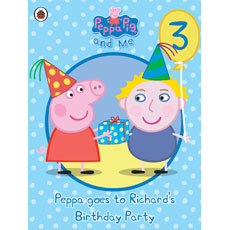 Personalised Peppa Pig - Peppa goes to Your Child's Party (Boy)