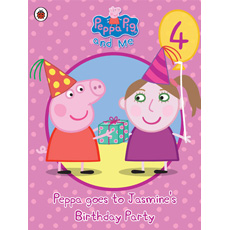 Personalised Peppa Pig - Peppa goes to Your Child's Party (Girl)