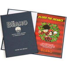 Personalised Beano Christmas Comic Book - Hardback