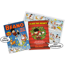 Personalised Beano Christmas Comic Book - Softback