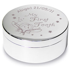 Personalised 1st Tooth Trinket - Fairy