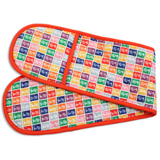 Stamp Collection - Multi-coloured Oven Gloves