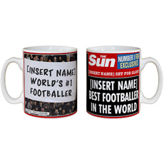 Personalised The Sun Mug
