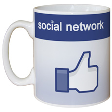 Personalised Social Network Mug