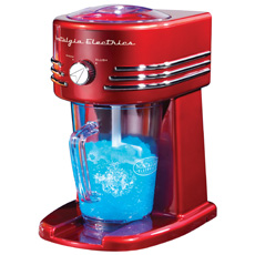 Retro Slushie Ice Crusher and Beverage Station