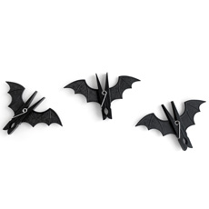 Bat Pegs - Pack of 3