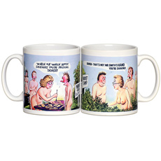 Personalised Saucy Postcard Mugs - For Her