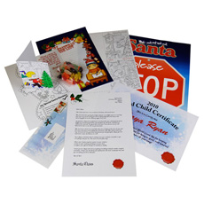 Personalised Letter from Santa Gift Set