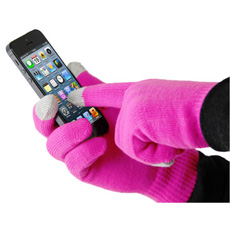 Smart Glove - Touch Glove for iPhone - Pink