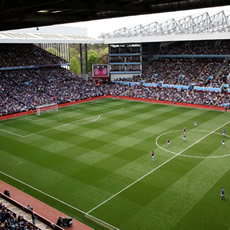 Tour of Aston Villa's Villa Park Stadium for Two