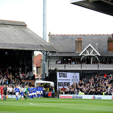 Tour of Fulham FC's Craven Cottage Stadium for Two