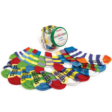 Sockipops - Bright Baby Socks