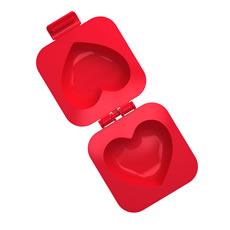 Eggspress Heart Egg Mould