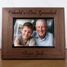 Personalised World's Best Person Photo Frame