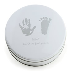 Baby's First Handprint and Footprint Kit
