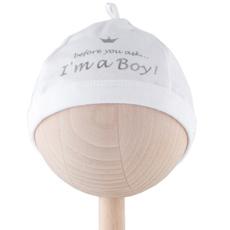 'I'm a Boy' Baby Hat