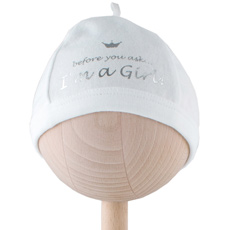 'I'm a Girl' Baby Hat