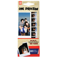 One Direction Nail Tattoos