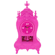 Baroque Table Clock with Sounds