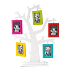 Place your family photos in this beautiful Family Tree Photo Frame!