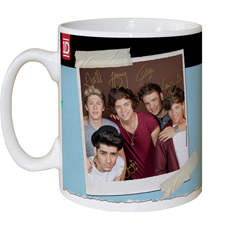 Personalised One Direction Mug