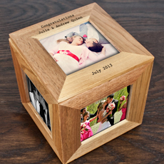 This photo frame keepsake box is a wonderful and caring gift to those near and dear to you!
