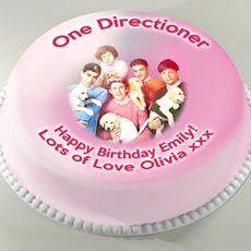 Personalised One Direction Cake