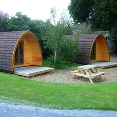 Enjoy camping in style with this One Night Glamping Break for Two voucher!