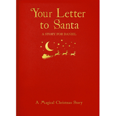 Personalised Letter to Santa Book - Hardback