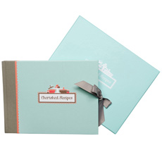 Cherished Recipes Book with Keepsake Box