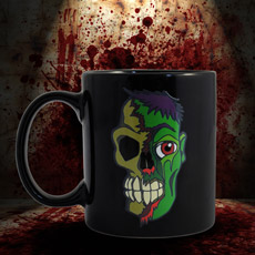 Zombie Heat Changing Mug