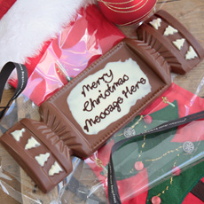 Personalised Chocolate Christmas Cracker
