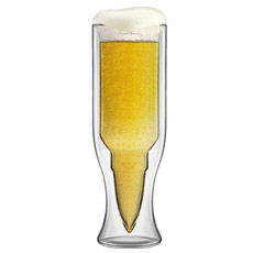 Bullet Beer Glass