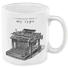 Just My Type Mug
