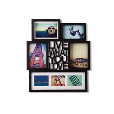 Show someone you care by filling this Motto Photo Display with precious photos.